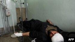 Раненый при взрыве в Кабуле