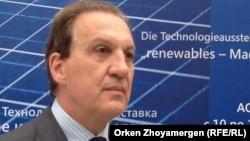 Германияның Қазақстандағы елшісі Гидо Херц. Астана, 10 қыркүйек 2013 жыл.