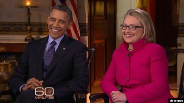 Barak Obama i Hilari Klinton