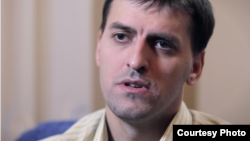 Yevgeny Kayryak, one of the Jehovah's Witnesses who said he was tortured by Russian police.