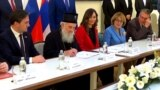 Gazprom Finances Serbian Church Interior