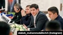 Mirziýoýewiň kiçi gyzyna öýlenen Otabek Umarow.