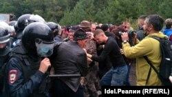 Столкновения у горы Куштау 15 августа 2020 г.