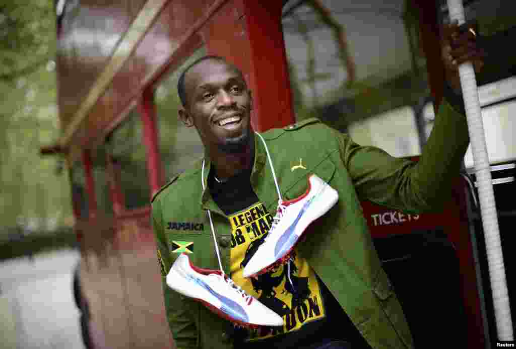 Atletičar Jamaice, Usain Bolt, London 2012.