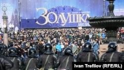 Фоторепортаж: Москва поліцейська