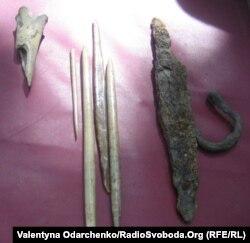 Кістяний гарпун племені неврів