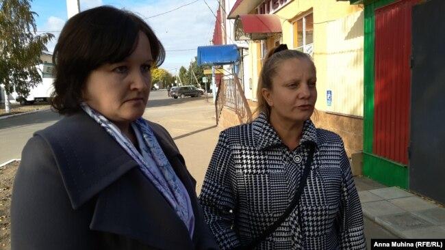 Наталья Зибарева и Ольга Журавлева