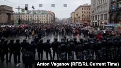 Невский проспект 23 января