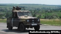 Славянск маңындағы солдаттар. 10 маусым 2014 жыл.