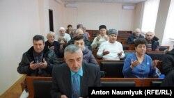 Suleyman Kadırov mahkemede, Kefe, 2018 senesi mart 1 künü
