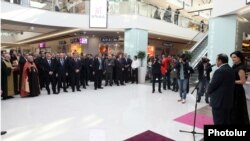 "Armenia -- President Serzh Sarkissian attended the opening of ""Yerevan Mall"", 20 Feb, 2014"