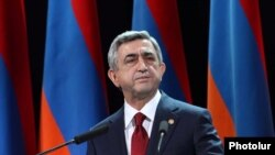 Նախագահ Սերժ Սարգսյանը իշխող Հանրապետական կուսակցության 20-ամյակին նվիրված նիստում