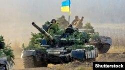 Ukrayna tankları Jitomir poliqonunda