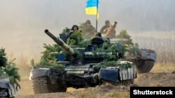 Учения украинской армии в Житомирской области, 2018 год