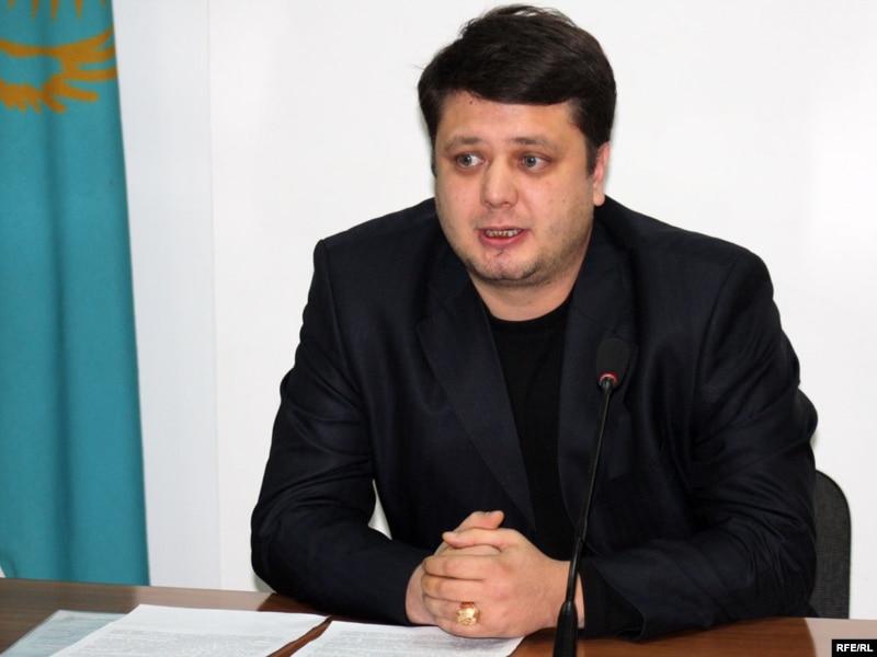 Олен Исхаков, адвокат подследственного Мухита Тагаева. Алматы, 8 декабря 2009 года