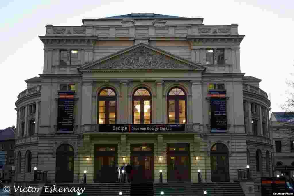 În seara premierei la Opera din Altenburg