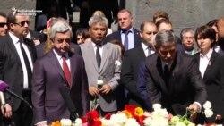 جرج کلونی در ارمنستان