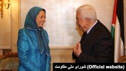محمود عباس روز شنبه با مریم رجوی دیدار کرد
