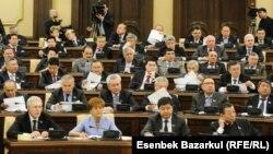 Казахстанскиот парламент.