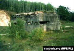 Дот першай абарончай лiнii савецкай мяжы 1939 году, в. Карпілаўка