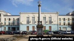 Проект памятника «Народному ополчению всех времен» в Симферополе
