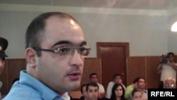 Journalist Eynulla Fatullayev's on trial in June 2010