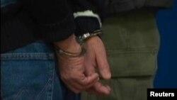 FBI тұтқындаған адам. Нью-Йорк, 20 қаңтар 2011 жыл. Көрнекі сурет