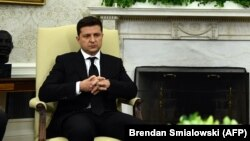 Украинскиот претседател Володимир Зеленски