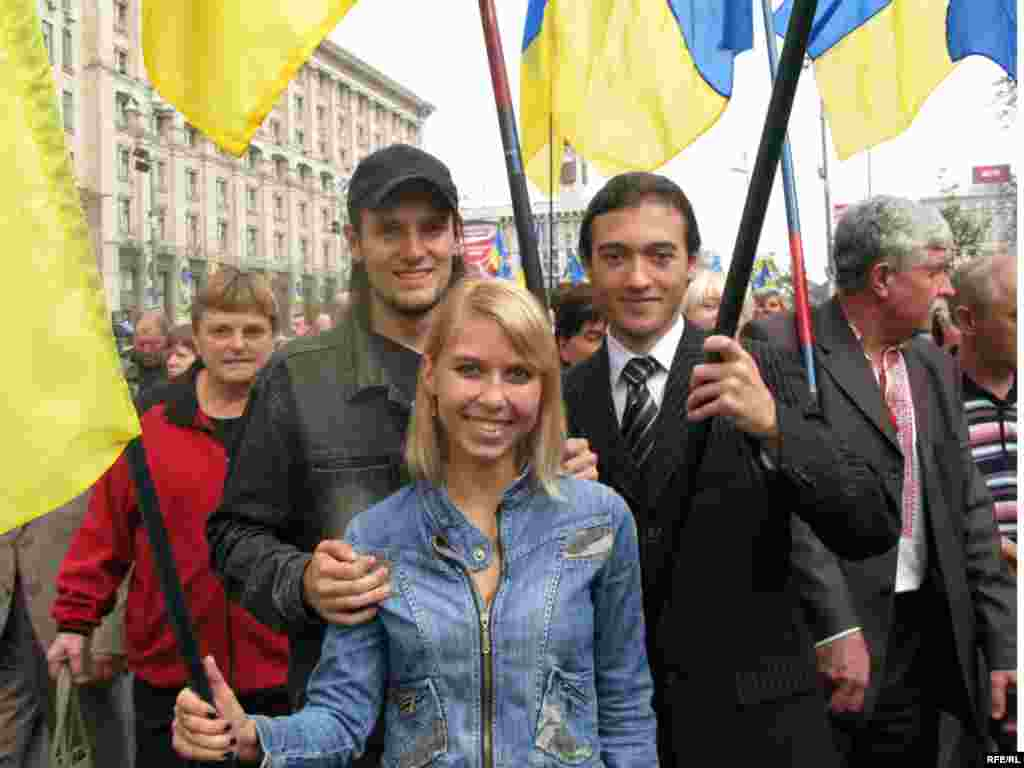 Студенти Кіровоградського технічного університету під час урочистої ходи