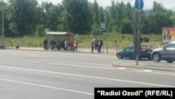 Rusiyada tacik miqrantlar