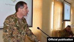 Начальник Генерального штаба Вооруженных сил Армении Оник Гаспарян (архив)