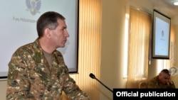 Начальник Генерального штаба Вооруженных сил Армении, генерал-полковник Оник Гаспарян