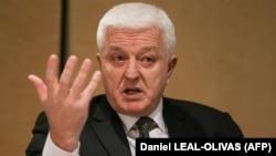 Montenegrin Prime Minister Dusko Markovic (file photo)