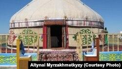 Казахская юрта. Фото Алтынай Мырзахметкызы.