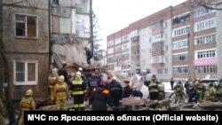 На месте взрыва в Ярославле.