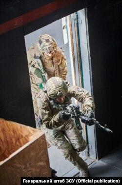 Штурмові дії в Kill House. Фото Генерального штабу ЗСУ