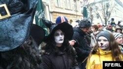 Праздник Марди Гра сопровождается карнавалом
