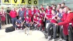 22.06. 2015 - Србија ги пречека младите фудбалери, напади во Кабул
