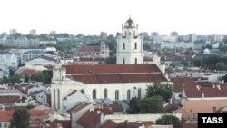 Любоваться старым Вильнюсом живущим за границей литовцам предлагается только в качестве туристов