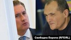 Кирил Домусчиев и Васил Божков