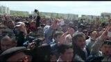 Rare Kazakhstan Protest Denounces Land Auction Plans