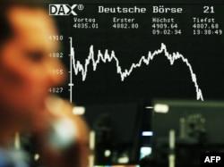 Investitori su dugo profitirali od upumpavanja novca na finansijska tržišta nakon izbijanja finansijske krize 2008 (fotografija: berza u Frankfurttu 2008.)