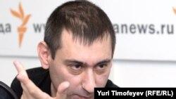 Один из самых известных блогеров России Зафар Хашимов в студии Радио Свобода