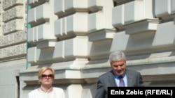 Vlasnica Fimi medie Nevenka Jurak i bivši HDZ-ov rizničar Mladen Barišić, Zagreb, 21. ožujak 2012.
