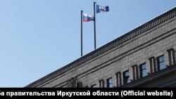 Здание правительства Иркутской области и Заксобрания