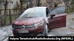 Фото підпаленого автомобіля керівника інформагенства