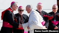 Папата Франциск во посета на Словачка