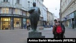 Spomenik Stjepanu Radiću u Zagrebu
