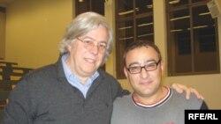 Андреас Гросс (слева) и Али Акпер