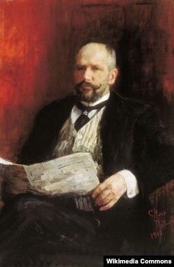 Илья Репин. Портрет П. А. Столыпина. 1910
